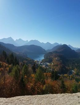 View from the balcony at Neuschwanstein. , unnurlar - November 2017