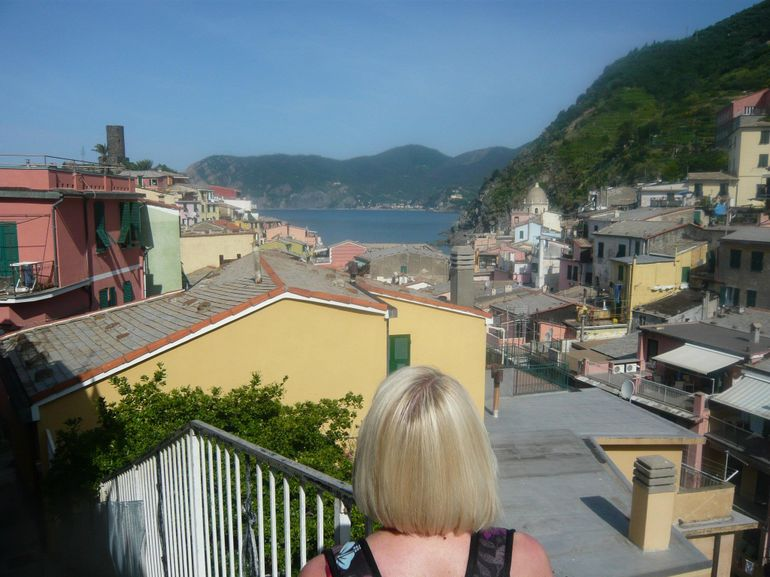 leaving Vernazza - Florence