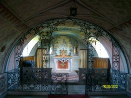 inside the italian chapel , IAN M - August 2012