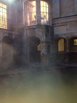 The Roman Baths are still steaming. , Jeovany - January 2013
