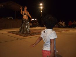 my daughter enjoying the dance, Nitin A - October 2009
