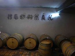 This is in the cellar at the Hernyák Birtok winery close to Budapest. great wine. , Chuck D. M - October 2015