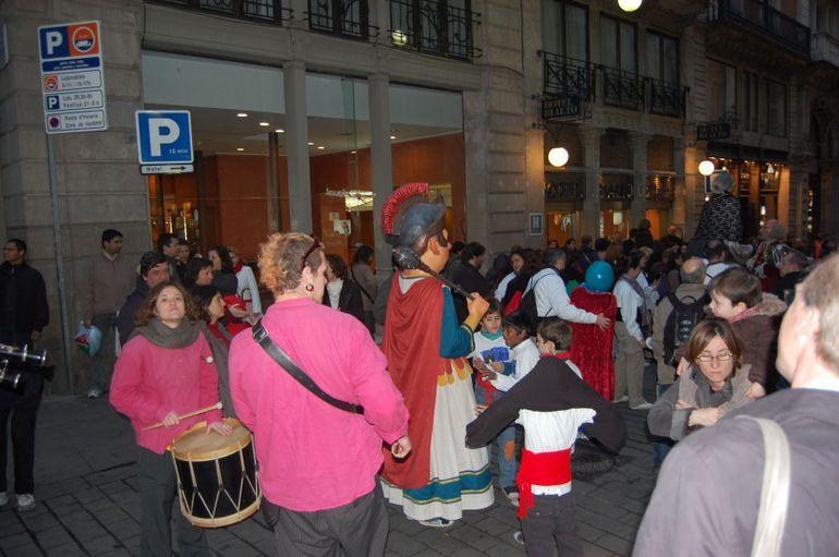 Festival on the street - Barcelona