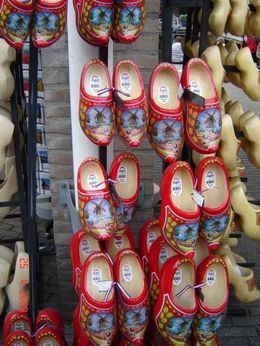Typical Dutch shoes, try them on!, Olivia Z - May 2009