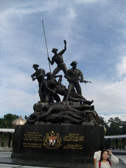 National Monument - and quot;Commemorate the warriors who died defending the sovereignty of the country and quot;... and quot;The monument embodying seven bronze statues also represents the..., Classic168 - December 2011