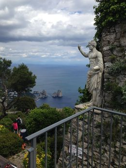Photo from the top of the mountain in Ana Capri. , Jennifer C - May 2014