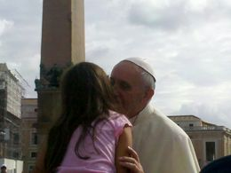 Pape François , Nathalie D - September 2013