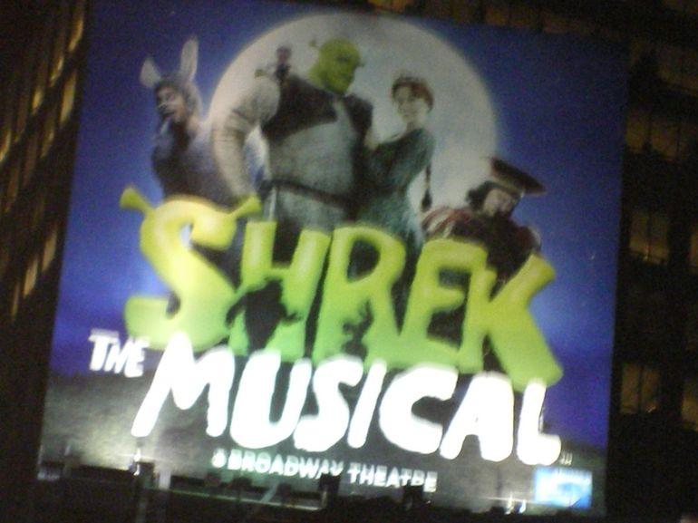 Shrek The Musical - New York City