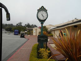 clock at Pebble Beach , dorothy b - August 2013