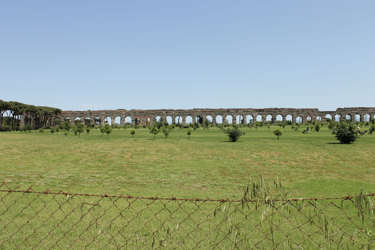 Ancient Appian Way, Catacombs and Roman Aqueducts Electric-Assist Bicycle Tour photo 31