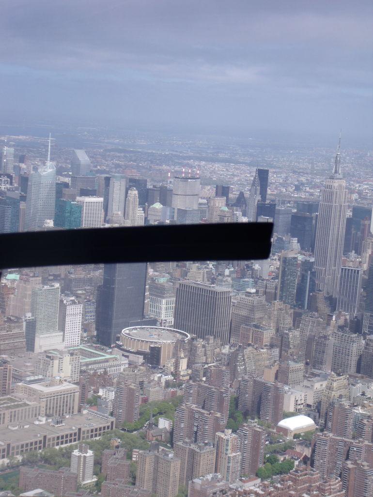 Vue de l'hélico - New York City