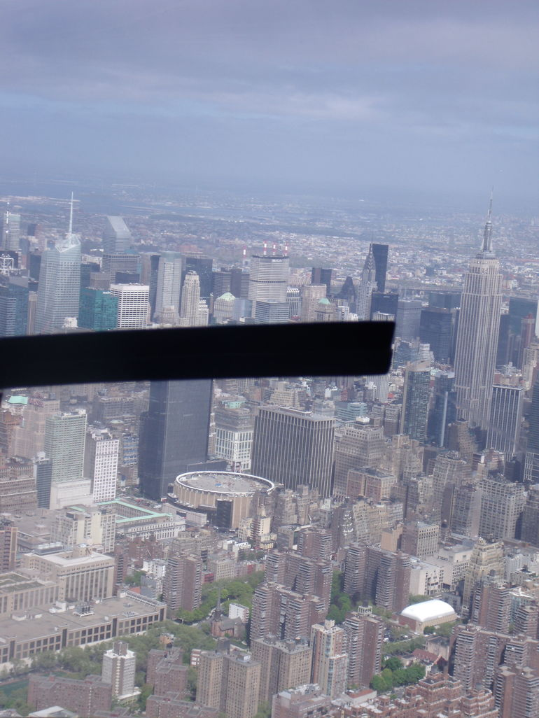 Vue de l'h�lico - New York City