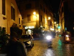 Street in Trastevere , judi - November 2016
