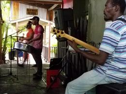 Lunch music in Ochi JA , churchmitch - December 2016