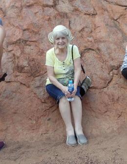Sitting on Uluru , lauriegreen49 - May 2017