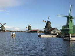 Zaanse Schans Windmills. Beautiful to see them in operation , Carlos A - November 2017