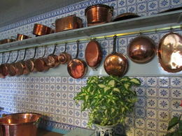 Copper pots and pans to die for! Fabulous kitchen you should see the stove! , Elizabeth R - December 2017
