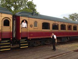 All aboard!, Trina Tron - April 2013