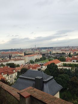 Coming down from the Castle is this great overlook of the city of Prague. This tour was fabulous. , John E. M - October 2014