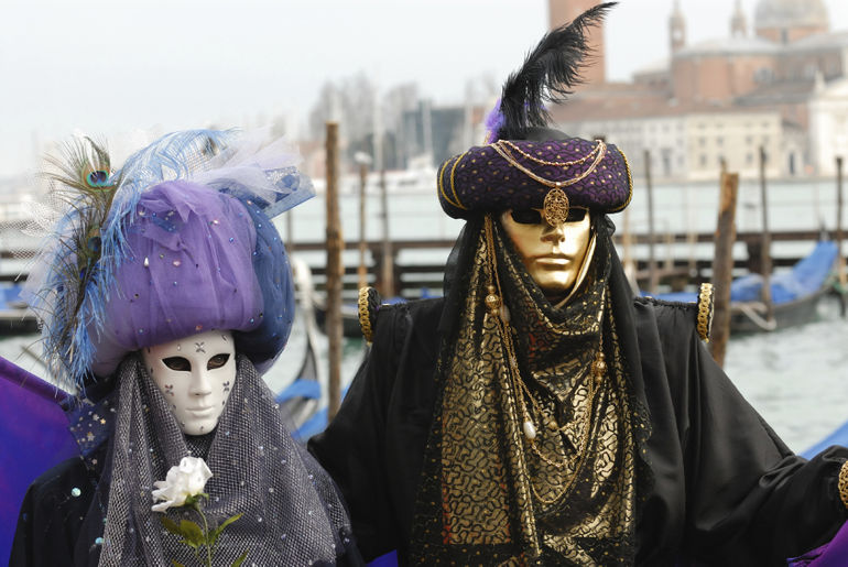 Celebrating Carnival - Venice