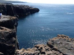 Another set of Cliffs we visited after the Cliffs of Moher , LAFRAGIA M - June 2012