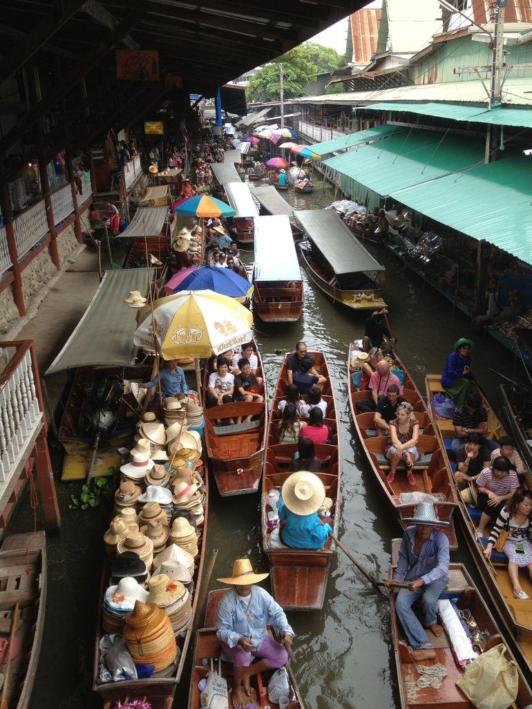Die schwimmenden M�rkte - Bangkok