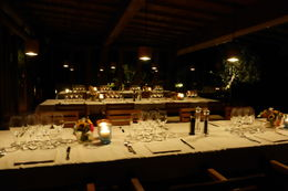 The tables are set waiting for us. , caper5 - October 2015