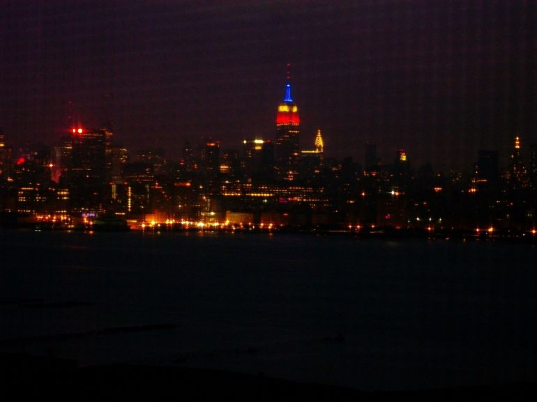 Empire state vu de New jersey - New York City