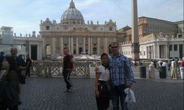 St Peter's Square with my love , MaryLaurence L - October 2013