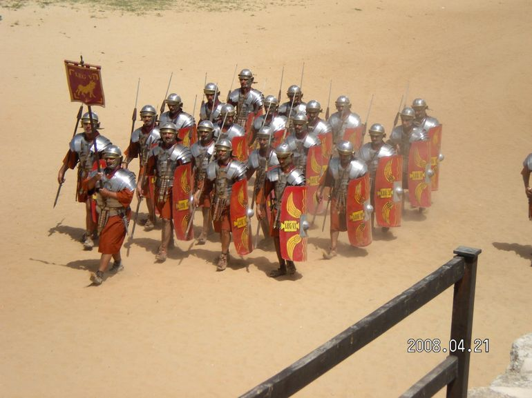 Gladiator Show in Jerash - Amman