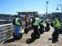 Our Segway leader points out some of the interesting features on waterfront., eamonnshanahan - June 2008
