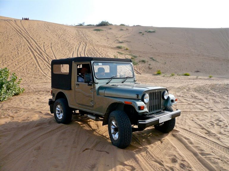 Jeep safari - Jaipur
