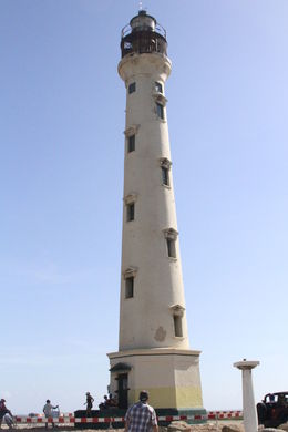 Lighthouse in Aruba, JennyC - August 2014