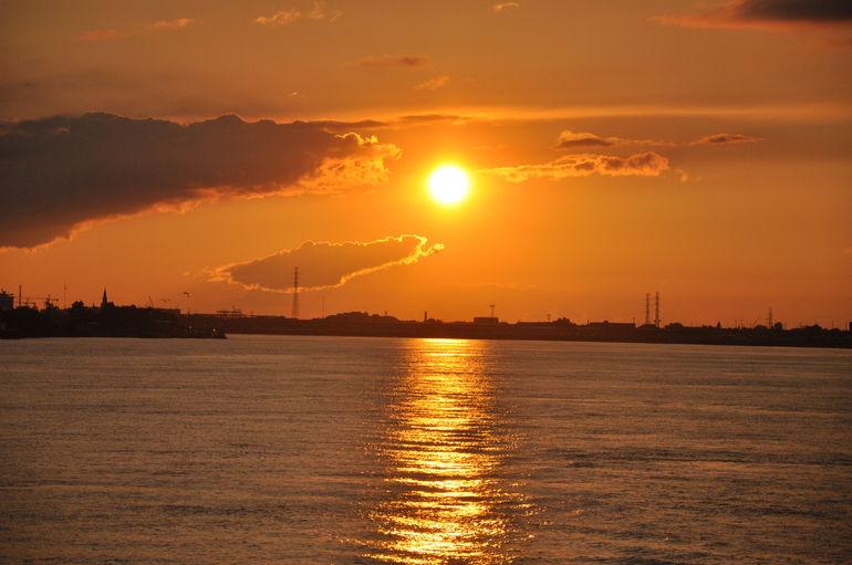 Louisiana sunset - New Orleans