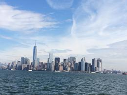 View of NY from cruise ship , Danielle S - January 2015