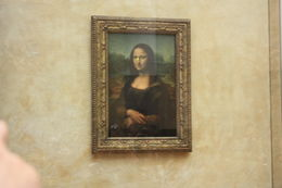 Mona Lisa in the Louvre Museum, Paris, SCV - November 2012