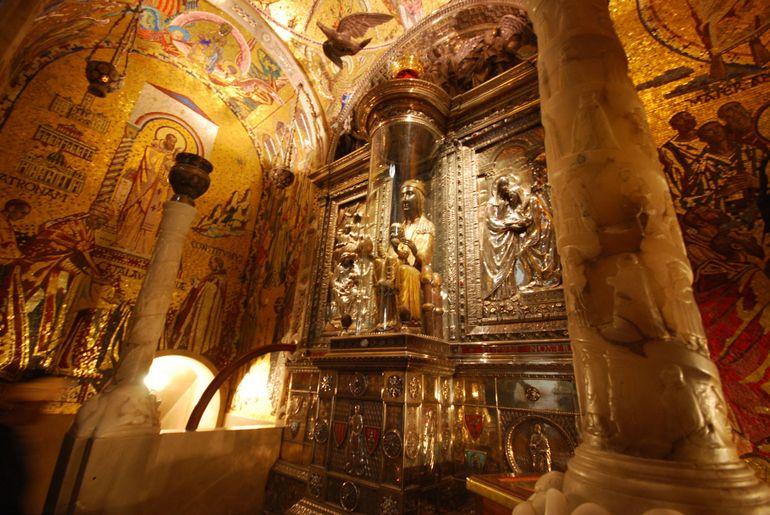 Montserrat's Black Madonna - Barcelona