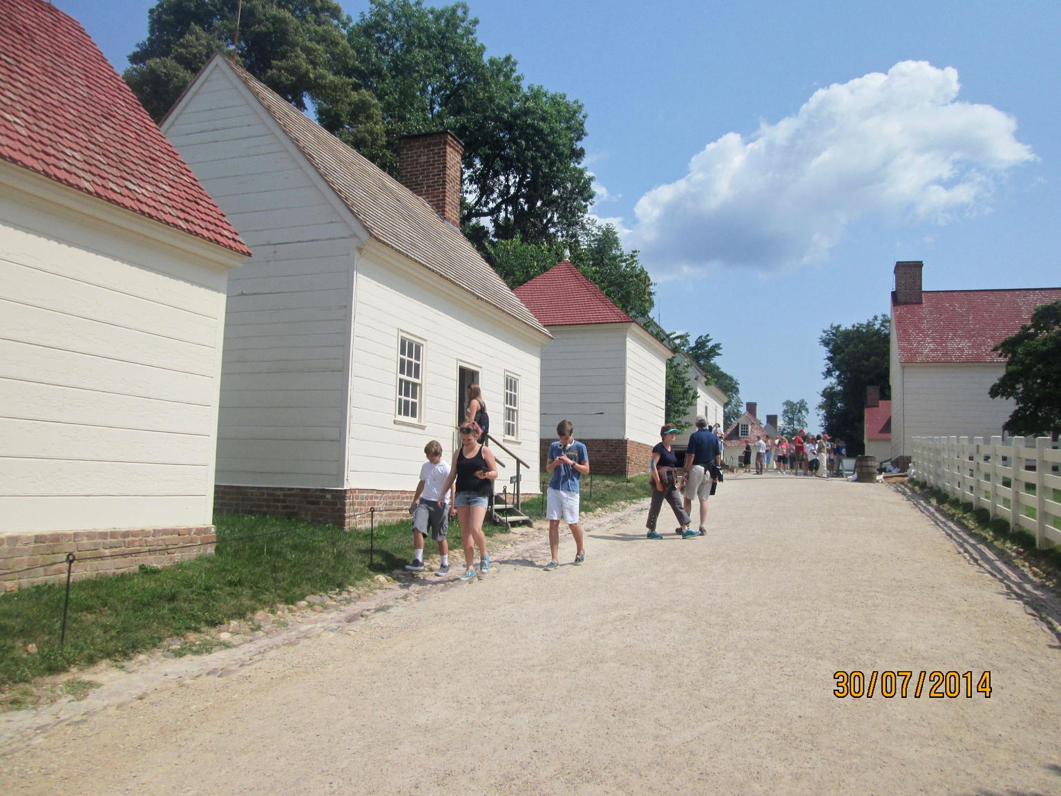 Mount Vernon outbuildings