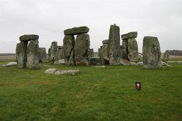 Stonehenge in the wet , Bostocks - February 2013