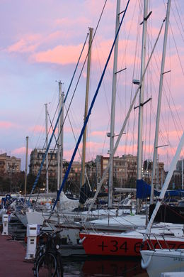 Barcelona port, SCV - January 2013