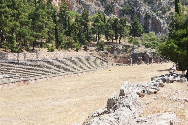 Stadium at Delphi - Athens