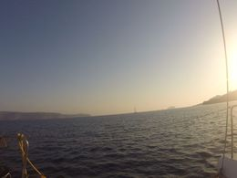 sunset view from the boat , Miguel C - July 2016