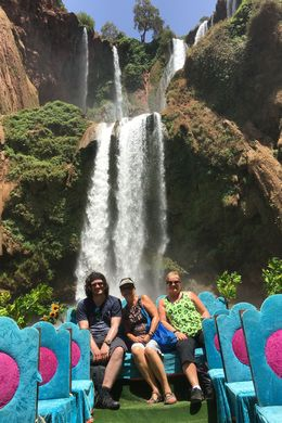 A fellow traveler from England with me and my sister.... The boat was very cheap and the young man rowing took us up to the falling water 5-6 times, all with a smile on his face. It was a refreshing..., Jan C - July 2016