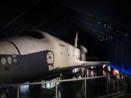 The space shuttle Enterprise in the Intrepid museum , Ben T - April 2014