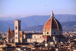 View of Florence from a top of Michael Angelo Park , Andrew B - December 2015