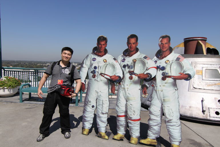 With the guys from Apollo 13 - Los Angeles