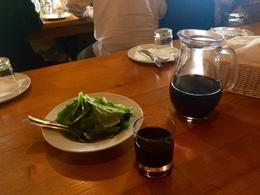 Pitchers of vino and salads with drizzled fresh olive oil! The best ever , raci88 - November 2016