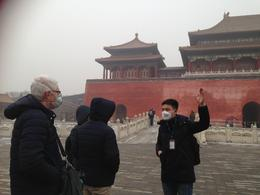 William explaining Chinese culture and history. in minus two degrees , Judith S - January 2017