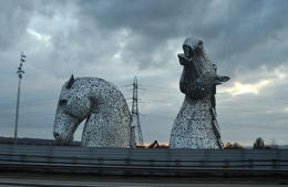 Kelpies from the bus. , Narayanaswamy A - March 2017