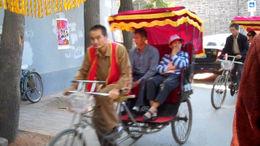 Touring by rickshaw! - January 2012